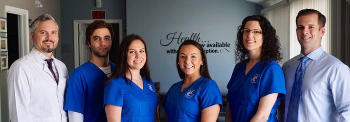 Chiropractic Colchester CT Team